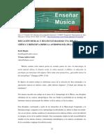 Educación Musical y Multiculturalidad