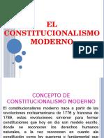 Diapositiva de Constitucionalismo Moderno