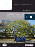 Dando Watertec 4000 Waterwell drilling rig