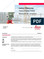 Manual Et Leica Flexline Esp v2.0