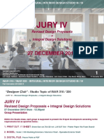 INAR 310 320 Designer Club Jury IV Submission Requirements