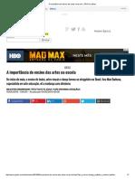 A Importância Do Ensino Das Artes Na Escola - ÉPOCA _ Ideias