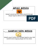 Logo Sampah Medis Dan Non