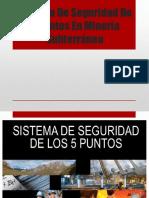 Sistema de Seguridad de 5 Puntos en Mineria
