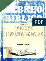 Hebreo Biblico Texto Programado - Tomo 1 - Chavez, Moises.pdf