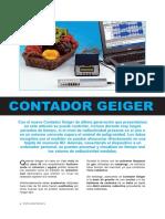Contador Geiger