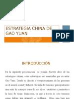 2 estrategias chinas