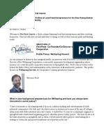 slow money newsletter profile - robin 2