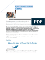 Educación para el Desarrollo Sostenible.docx