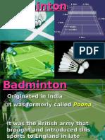 Badminton Handouts