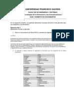 Guia 1. Formato de Documentos
