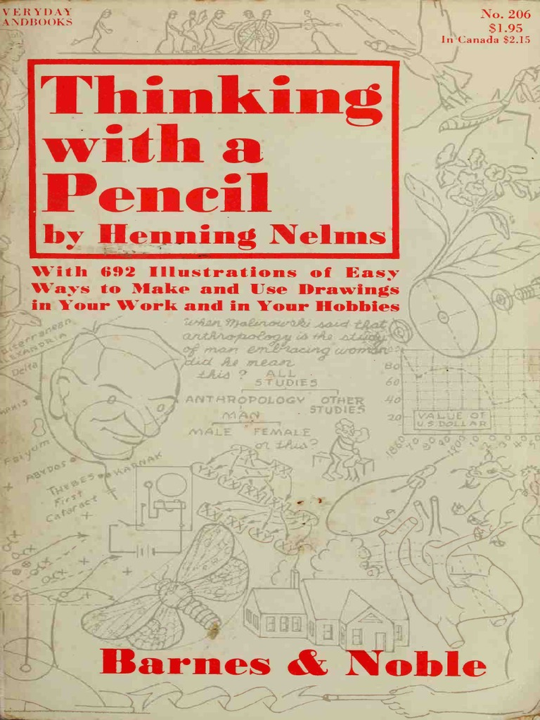 Thinking with a pencil art ebook drawing graphics fandeluxe Gallery