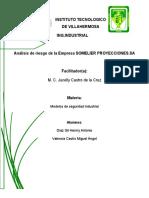 Analisis de Riesgo Somelier Proyecciones