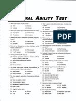 Upkar General Ability Test