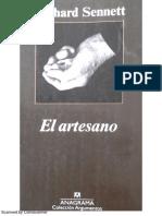 EL ARTESANO - Richard Sennett.