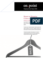 Italy - Shopping Centre Report 2008