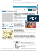 Social Enterprises Increasingly Getting More Capital, From Impact and Ventur
