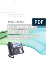 Manual Grandstream GXP2100