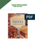 Recetas de Patata Populares
