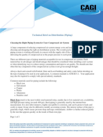 Distribution Technical Brief