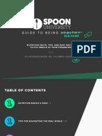 Spoon University Nutrition Guide