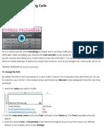 Excel 2013_ Formatting Cells
