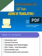 CAT Tools Presentation