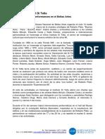Semana DiTella Kit Prensa