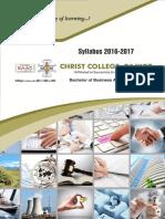 BBA Syllabus 2016-17