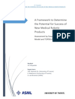 0000_A Framework to Determine the Potential for Success of New Medical Robotic Products