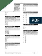 Algebra Questions
