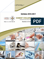 BCom Syllabus 2016-17