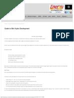 Guide to Mini Hydro Development _ Rehan Energy