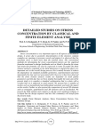 DETAILED STUDIES ON STRESS CONCENTRATION BY CLASSICAL AND FINITE ELEMENT ANALYSIS