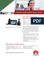 Huawei ESpace 8850 Video Phone Datasheet