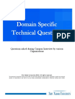 Tech Questionnaire