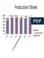 Daily Production Sheet