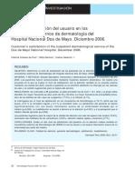 Nivel de satisfacción del usuario en los consultorios externos de dermatología.pdf