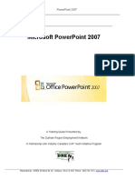 Introduction to Power Point Notes) | Microsoft Power Point