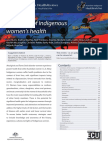 Summary of Indigenous Womens Health - Examinable