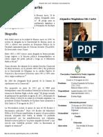 Alejandra Gils Carbó - Wikipedia, La Enciclopedia Libre