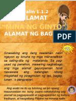 g8 Alamat Ng Baguio- Mina Ng Ginto