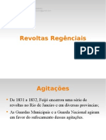 Brasil Regência Revoltas
