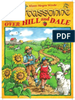 Carcassonne Hill and Dale Rules