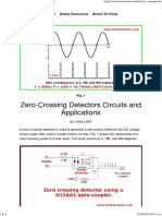 Zero-Crossing Detectors Circuits and Applications