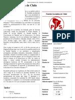 Partido Socialista de Chile - Wikipedia, La Enciclopedia Libre