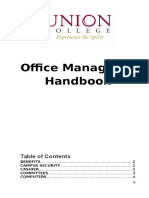 Office Managers Handbook - August 2014.doc