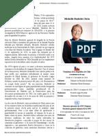 Michelle Bachelet - Wikipedia, La Enciclopedia Libre