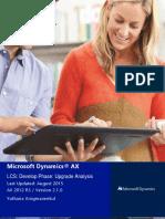 LCSinActionWorkshop-Develop3 UpgradeAnalysis V2