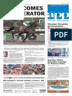 Asbury Park Press front page Monday, Aug. 1 2016